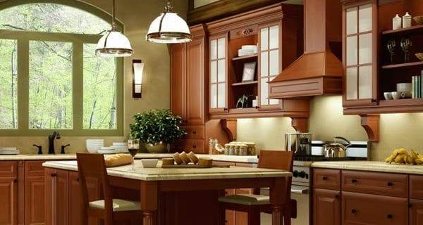 cinnamon-glaze-kitchen-cabinets