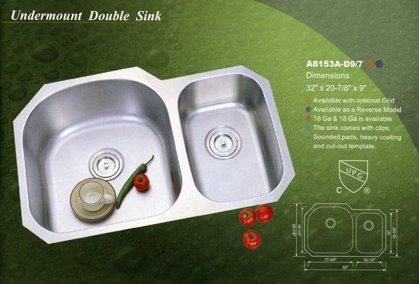 best kitchen sink double